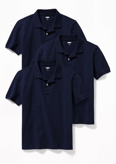 Old Navy Built-In Flex Uniform Pique Polo 3-Pack for Boys