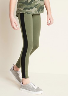 Old Navy Built-In Tough Full-Length Side-Stripe Leggings for Girls