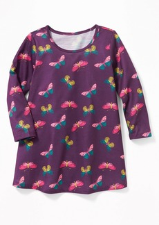 Old Navy Butterfly-Print Sleep Dress For Toddler Girls & Baby