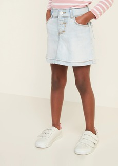 Old Navy Button-Fly Jean Skirt for Toddler Girls