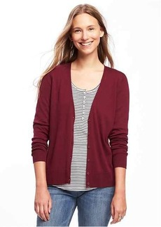 Old Navy Button-Front V-Neck Cardi for Women