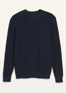 Old Navy Cable-Knit Crew-Neck Sweater for Men