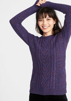 Old Navy Cable-Knit Crew-Neck Sweater for Women