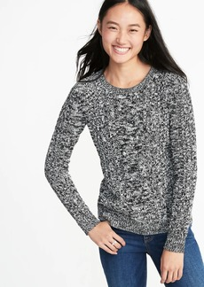 d5363c04f Old Navy Cable-Knit Crew-Neck Sweater for Women
