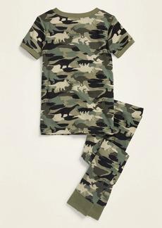 Old Navy Unisex Camo-Dino Pajama Set for Toddler & Baby