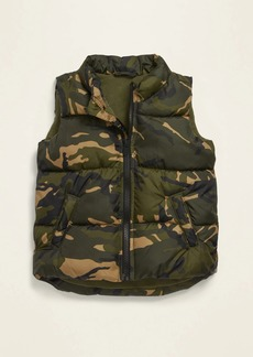 Old Navy Unisex Camo-Print Frost Free Vest for Toddler