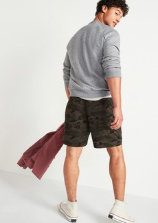 Old Navy Camo Twill Jogger Shorts for Men -- 9-inch inseam