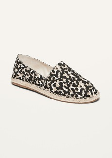 Old Navy Canvas Espadrille Flats for Women