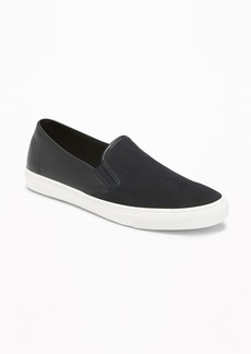 Old Navy Canvas/Faux-Leather Slip-Ons for Women