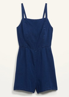 Old Navy Chambray Cami Romper for Women