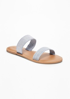 Old Navy Chambray Double-Strap Sandals for Women