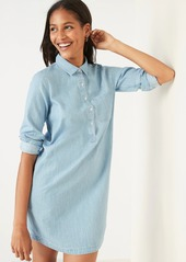 Old Navy Chambray Shift Shirt Dress for Women