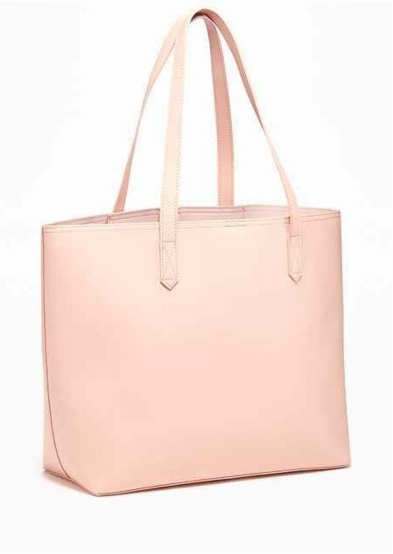 On Sale today! Old Navy Classic Faux-Leather Tote for Women e3c943518b