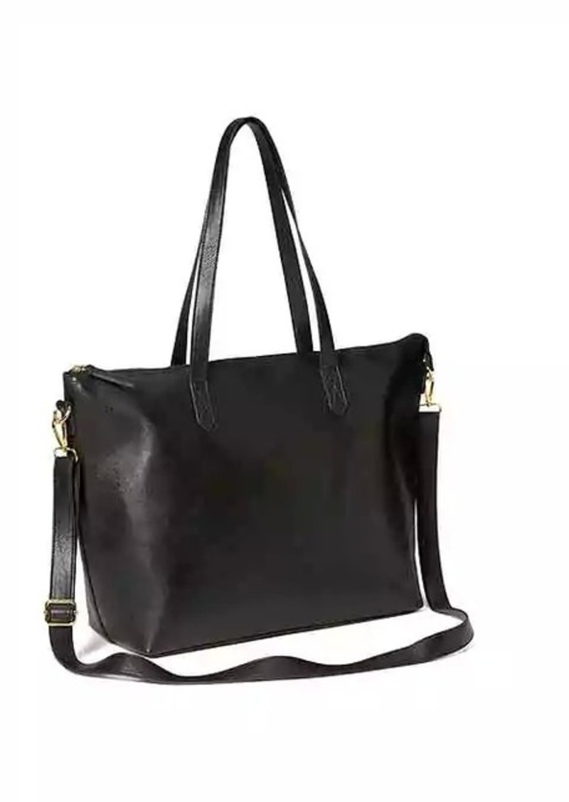 On Sale today! Old Navy Classic Faux-Leather Zipper Tote for Women f7236b0fac