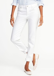 Clean-Slate Boyfriend Straight Jeans for Women