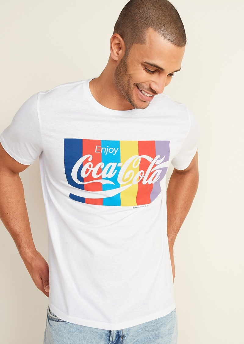 Old Navy Coca-Cola&#174 Graphic Tee for Men