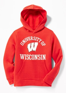 Old Navy College-Team Graphic Pullover Hoodie for Boys