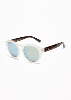 Old Navy Color-Block Round Sunglasses for Women