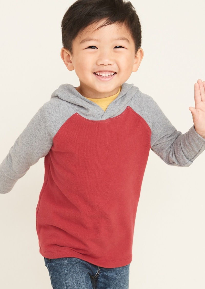 Old Navy Color-Blocked Jersey Tee Hoodie for Toddler Boys