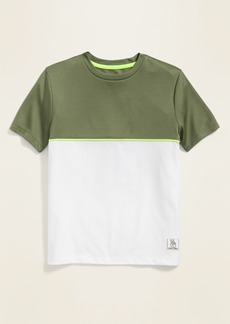 Old Navy Color-Blocked Mesh/Jersey Tee for Boys