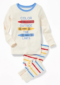 """Old Navy """"Color Outside the Lines"""" Sleep Set for Toddler & Baby"""