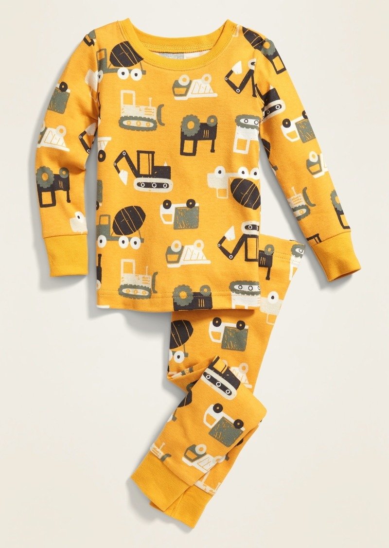 Old Navy Construction Equipment Pajama Set for Toddler Boys & Baby