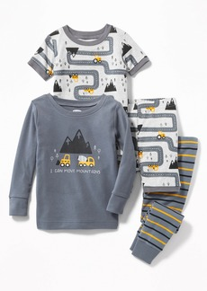 Old Navy Construction-Graphic 4-Piece Sleep Set for Toddler & Baby