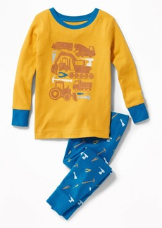 Old Navy Construction-Graphic Sleep Set for Toddler Boys & Baby