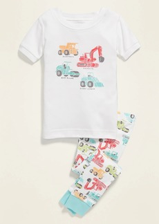 Old Navy Construction Truck Pajama Set for Toddler & Baby