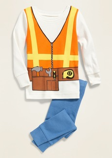 Old Navy Construction Worker Costume Pajama Set for Toddler Boys & Baby