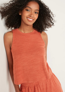 Old Navy Cozy-Knit Lounge Tank Top for Women