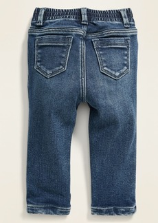 Old Navy Unisex Cozy-Lined Boyfriend Skinny Jeans for Baby