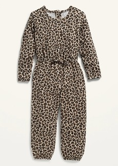 Old Navy Cozy Printed Jumpsuit for Toddler Girls
