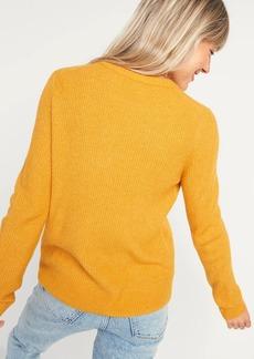 Old Navy Cozy Textured Crew-Neck Sweater for Women