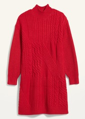 Old Navy Cozy Textured-Knit Sweater Dress for Women