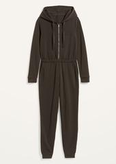 Old Navy Cozy Zip-Front Hoodie Jumpsuit for Women