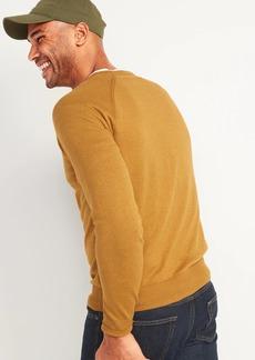 Old Navy Crew-Neck Raglan-Sleeve Sweater for Men