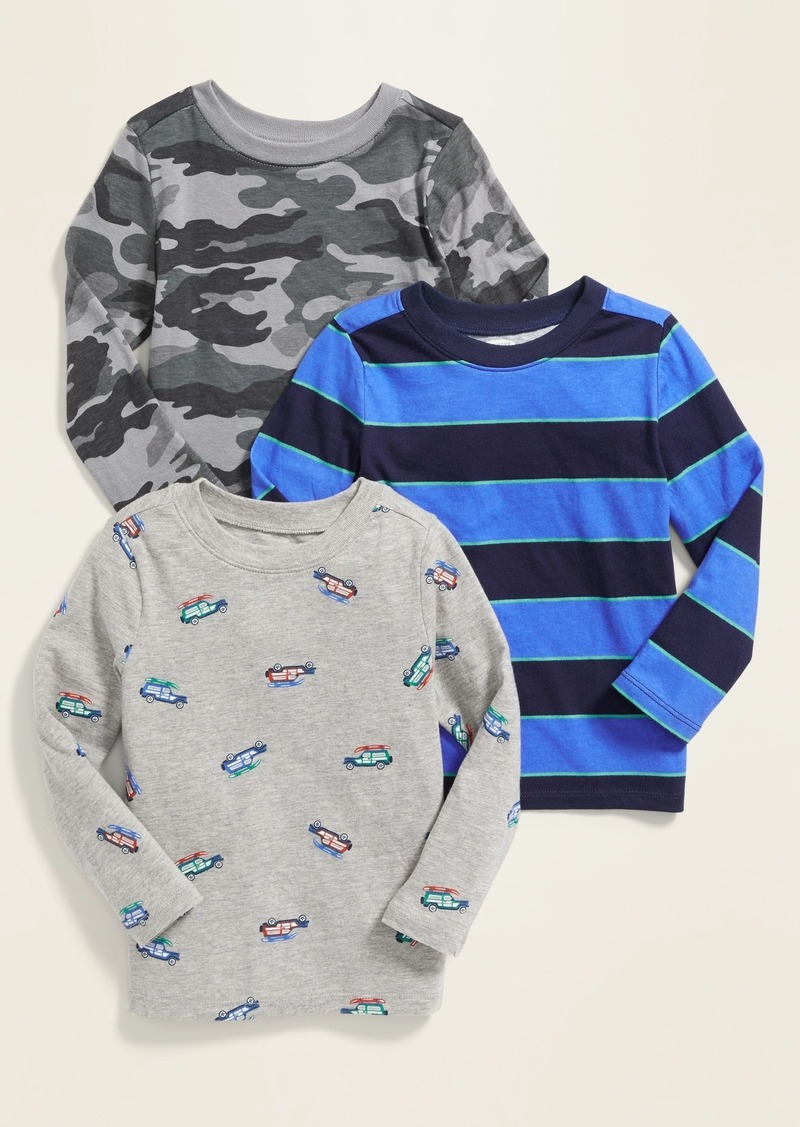 Old Navy Crew-Neck Tee 3-Pack for Toddler Boys
