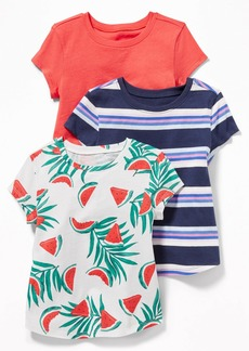 Old Navy Crew-Neck Tee 3-Pack for Toddler Girls