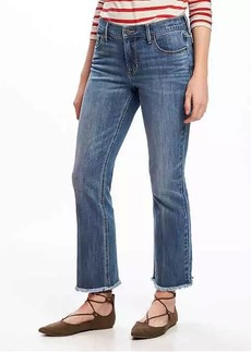 Cropped Kick-Flare Jeans for Women