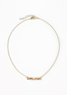 Old Navy Crystal Horizon Necklace for Women