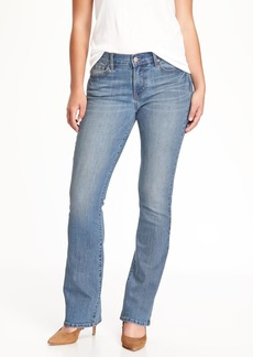 Curvy Boot-Cut Jeans