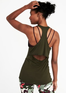 Old Navy Cutout-Back Performance Tank for Women