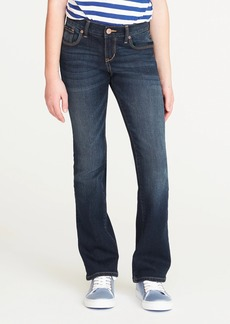 Old Navy Dark-Wash Boot-Cut Jeans for Girls