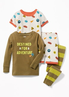 """Old Navy """"Destined for Adventure"""" 4-Piece Sleep Set for Toddler & Baby"""