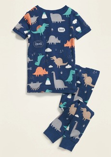 Old Navy Unisex Dinosaur Pajama Set for Toddler & Baby