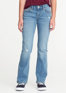 Old Navy Distressed Boot-Cut Jeans for Girls