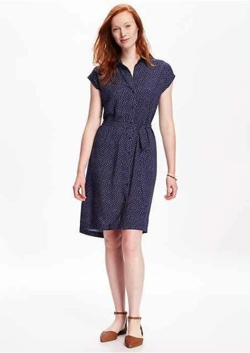 Old Navy Dolman-Sleeve Shirt Dress for Women
