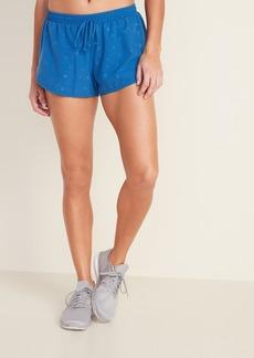Old Navy Dolphin-Hem Run Shorts for Women -- 3-inch inseam