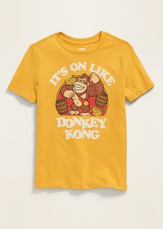 "Old Navy Donkey Kong&#153 ""It's On Like Donkey Kong"" Tee for Boys"